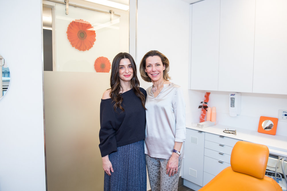 Dr. Corielli with client