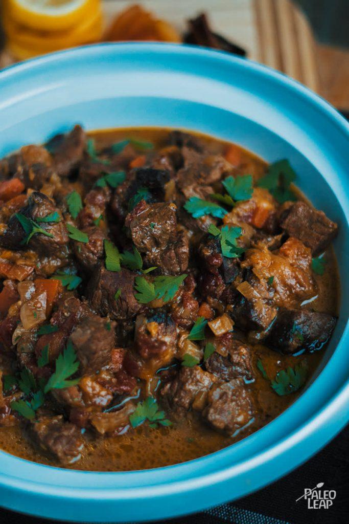 Slow cooker morrocan lamb stew recipe